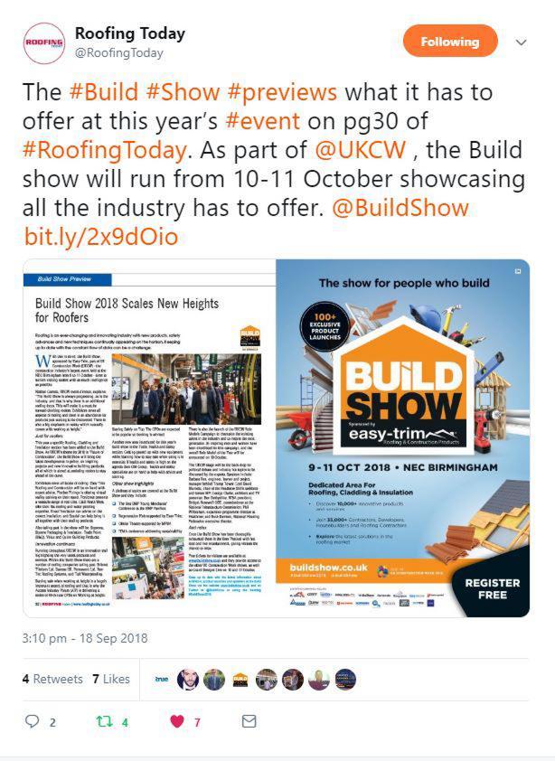 Marketing Opportunities - UK Construction Week 2019 - The