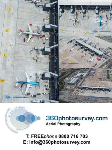 Construction Project aerial photographer